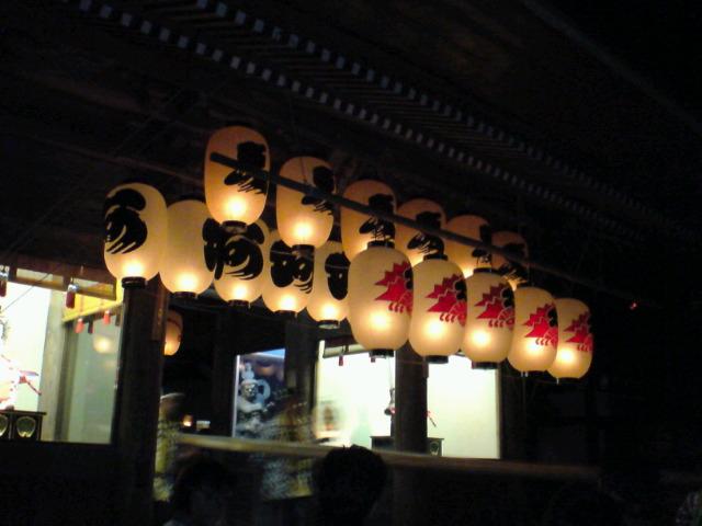 白河提灯祭り3<br />  日目